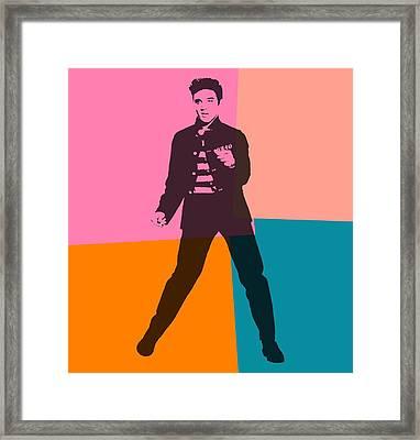 Elvis Pop Art Number 2 Framed Print