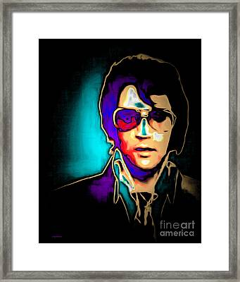 Elvis Presley 20151218v2 Framed Print by Wingsdomain Art and Photography
