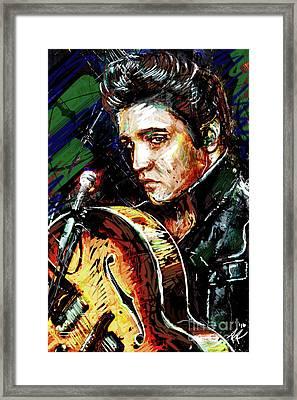 Elvis Presley Art Framed Print
