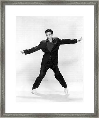 Elvis Presley Framed Print by Everett