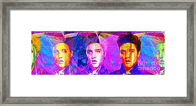Elvis Presley Jail House Rock 20160520 Long Framed Print by Wingsdomain Art and Photography