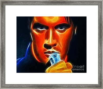 Elvis Presley Framed Print by Pamela Johnson