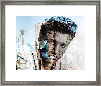 Elvis Presley Sun Studio Collection Framed Print