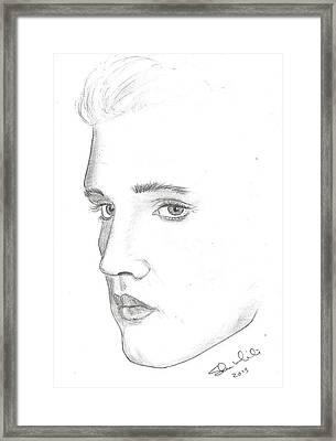 Elvis Framed Print by Steven White