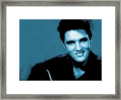 Elvis Watercolor  Framed Print