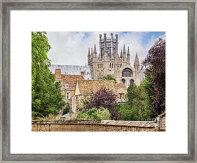 Ely Cathedral, England Framed Print by Colin and Linda McKie