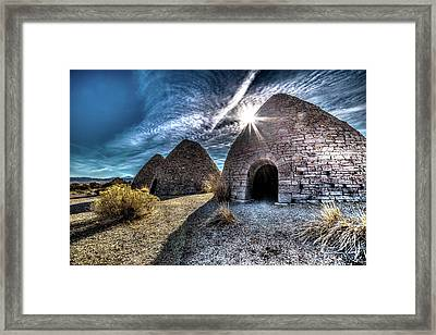 Ely Charcoal Ovens Framed Print by Bryan Moore