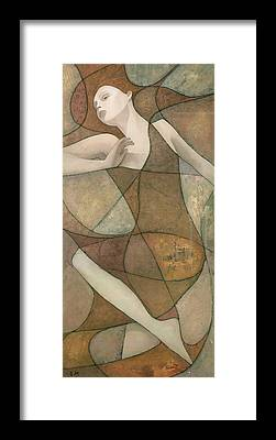 Abstract Figurative Framed Prints