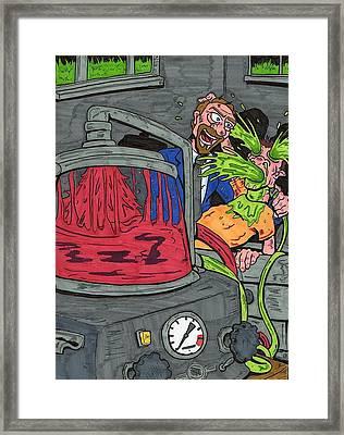 Embalmer Framed Print by Anthony Snyder