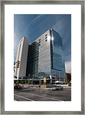 Framed Print featuring the photograph Embassy Suites 2916 by Guy Whiteley