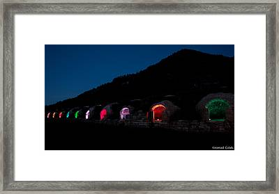Embed #1 Framed Print by Knomad Colab