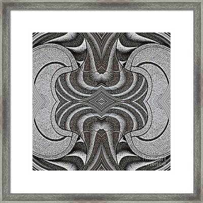 Embellishment In Concrete Framed Print by Sarah Loft