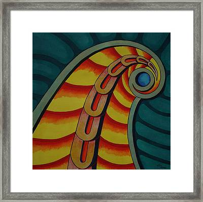 Framed Print featuring the painting Embellishments I by Paul Amaranto