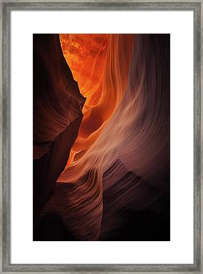 Embers Framed Print by Stuart Deacon