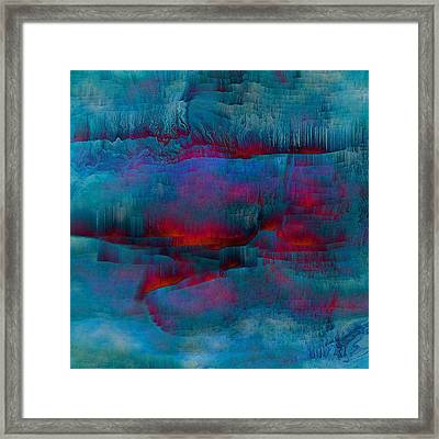 Embers Framed Print by Susan  Epps Oliver