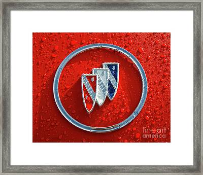 Framed Print featuring the photograph Emblem by Dennis Hedberg