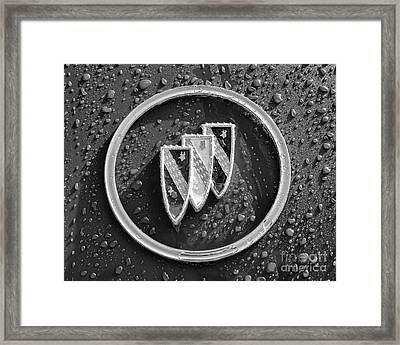 Framed Print featuring the photograph Emblem Mono by Dennis Hedberg