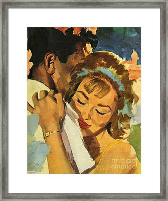Embrace Framed Print by English School