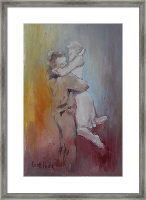 Embrace Framed Print by Geoff Poole