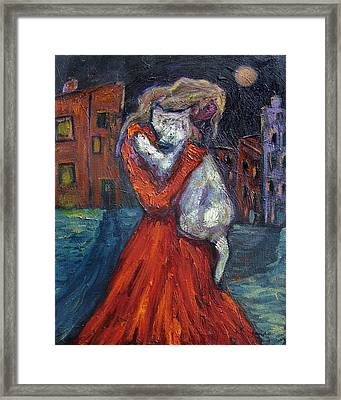 Embrace I Framed Print