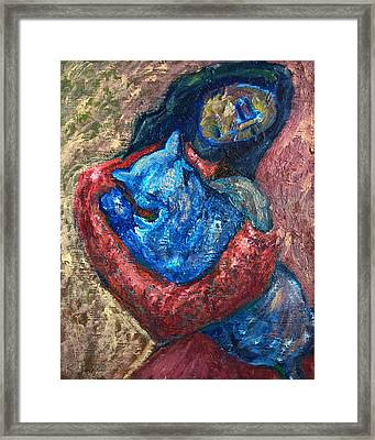 Embrace II Framed Print