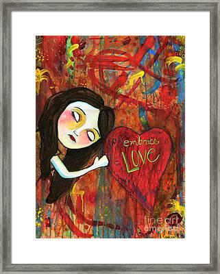 Embrace Love Framed Print