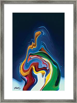 Embrace Framed Print by Rabi Khan
