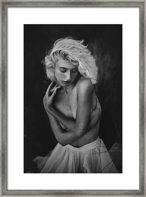 Embrace Framed Print by TJ Drysdale