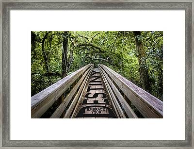 Embrace Your Destiny Framed Print