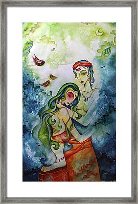 Embracing Love Framed Print