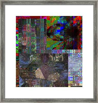 Embracing The Moment Framed Print by Fania Simon