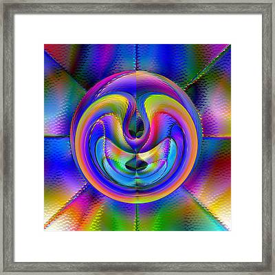 Embrio Framed Print by Carl Perry