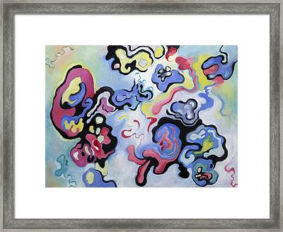 Embryonic Forms 1 Framed Print