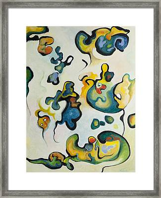 Embryonic Forms 2 Framed Print