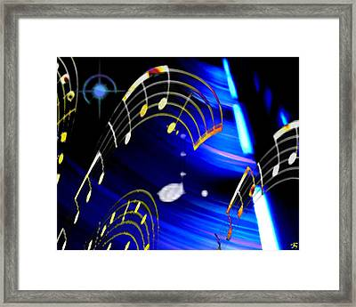 Emc2 Framed Print by Ken Walker