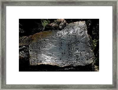 Emc2 Framed Print
