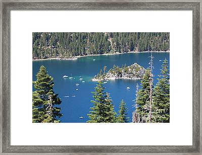 Emerald Bay Framed Print by Carol Groenen