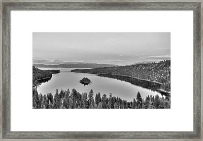 Emerald Bay Lake Tahoe Framed Print by Brad Scott
