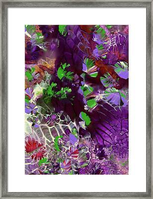 Emerald Butterflies Of Costa Rica Framed Print