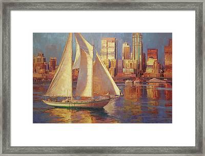 Elliot Bay Framed Print