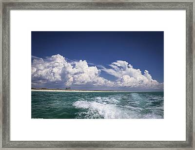 Emerald Coast  Framed Print