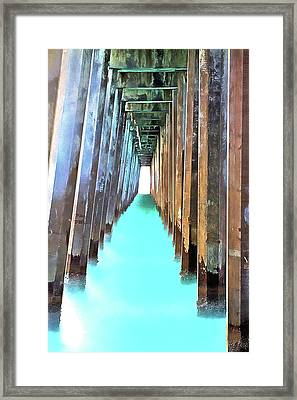 Emerald Coast Waters Framed Print by JC Findley