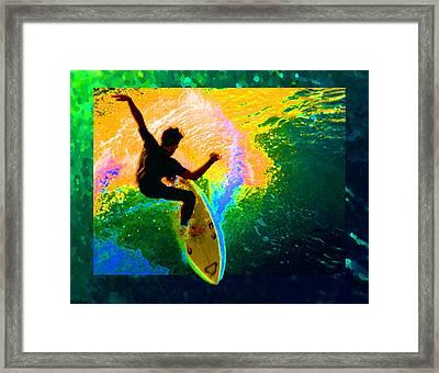 Emerald Dream Framed Print by Ron Regalado