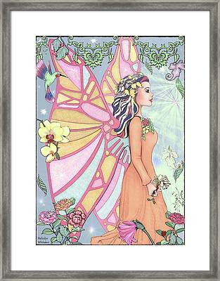 Emerald Forest Framed Print by Melodye Whitaker
