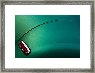 Emerald Frazer Framed Print by Todd Klassy