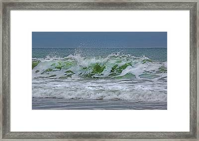 Emerald Jewel  Framed Print by Betsy Knapp