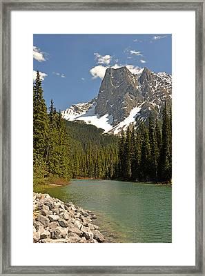 Emerald Lake Vista Framed Print