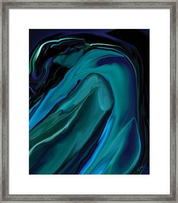 Emerald Love Framed Print
