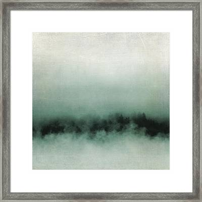 Emerald Mist Framed Print