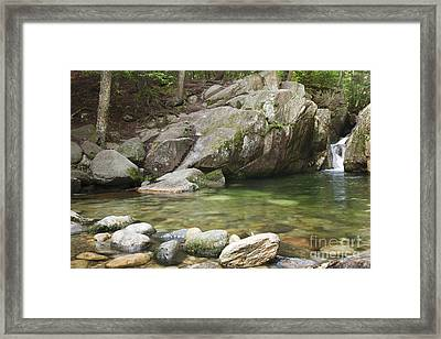Emerald Pool - White Mountains New Hampshire Usa Framed Print by Erin Paul Donovan